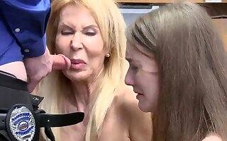 Teens caught in motor coach and beamy tits mom big Chief Suspects