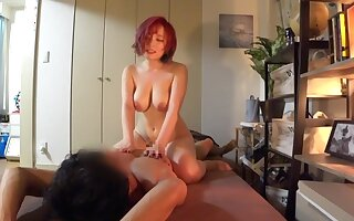 Asian putrefacient breasty babe hot amateur porn