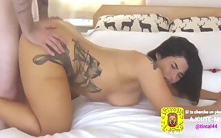 Hotfitcouple10 - Sexy Tattooed Maroc Beurette Fuck White French Man