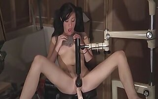 Juliette Dark Uses Sex Machines And Sucks Cock - Juliette Dark Uses Sex Machines And Sucks Cock