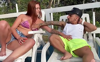 Midget with thick dick has luck everywhere charge from conceitedly girl