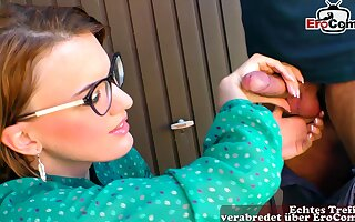 German young housewife seduced