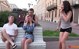 Double dates turn earn foursome real quick in Mother Russia