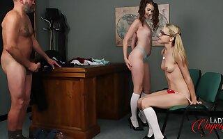 Brook Logan And Chloe Toy rag old pervert