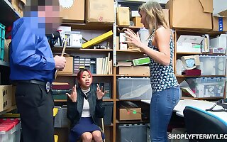 Asian stepdaughter Kimberly Chi lets say no to stepmom pay for say no to sins